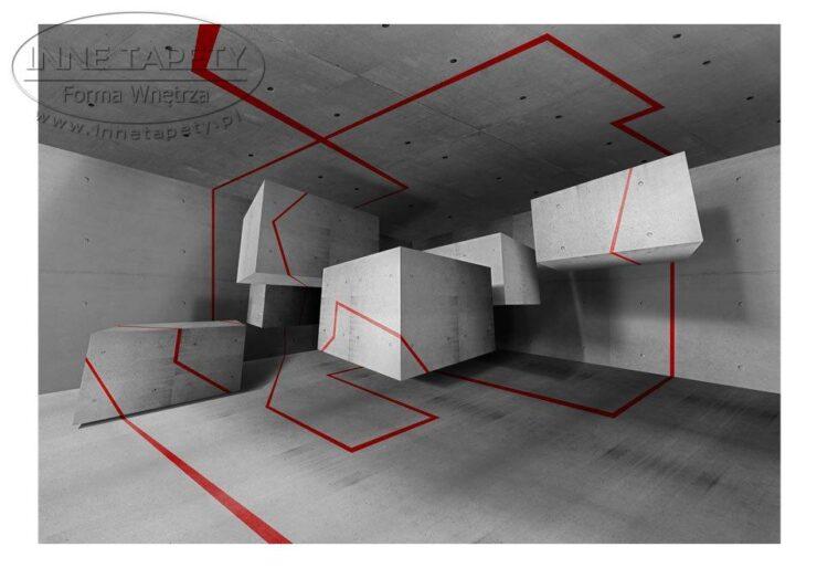 Fototapeta abstrakcja 3d