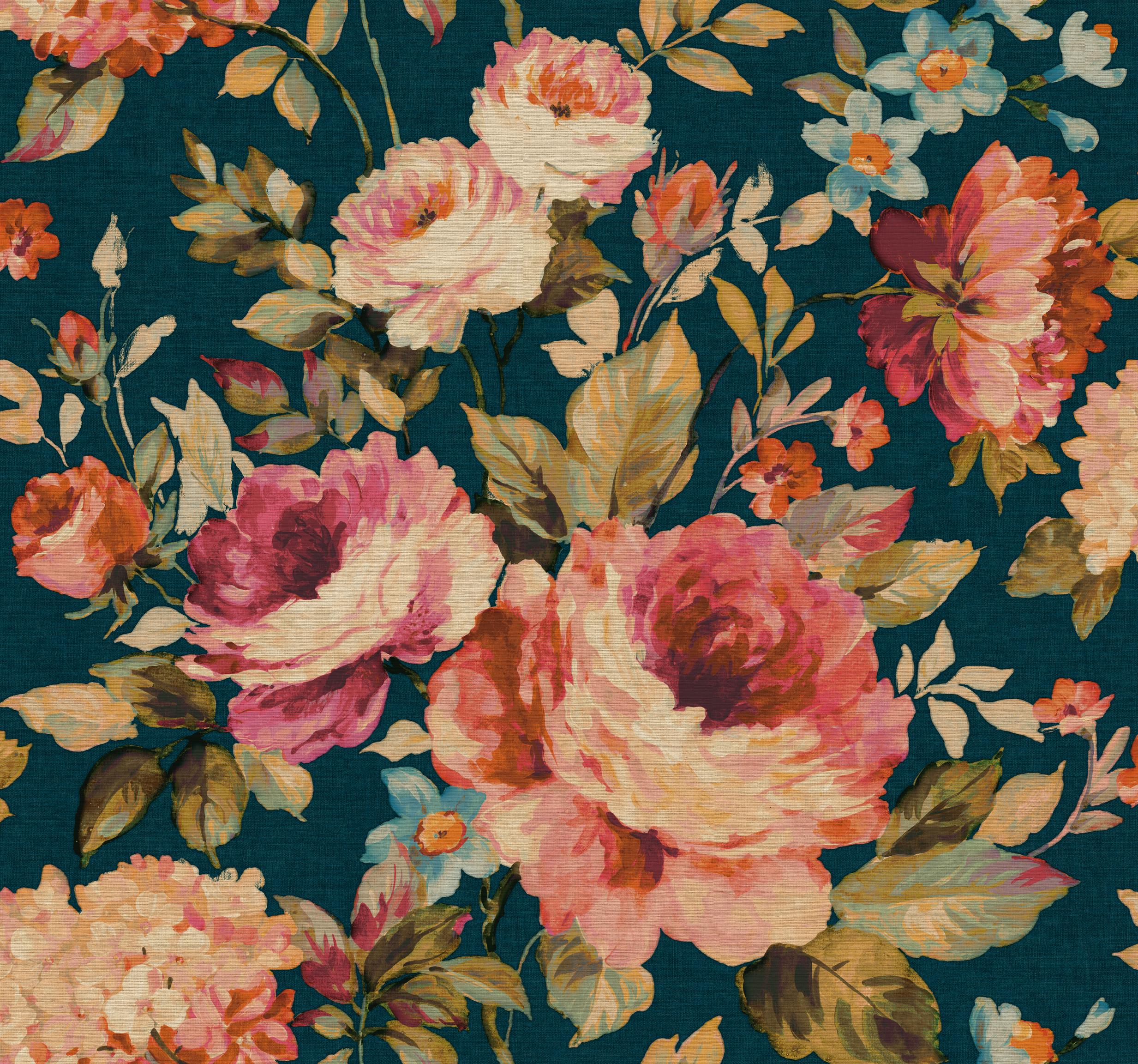GC FLOWER 22190 BLU LR Tapety marki Sirpi